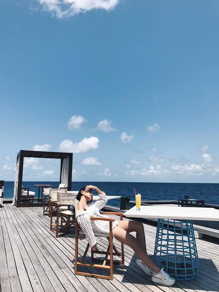 Ngắm biển và tận hưởng cảm giác bình yên tại đảo Maldives