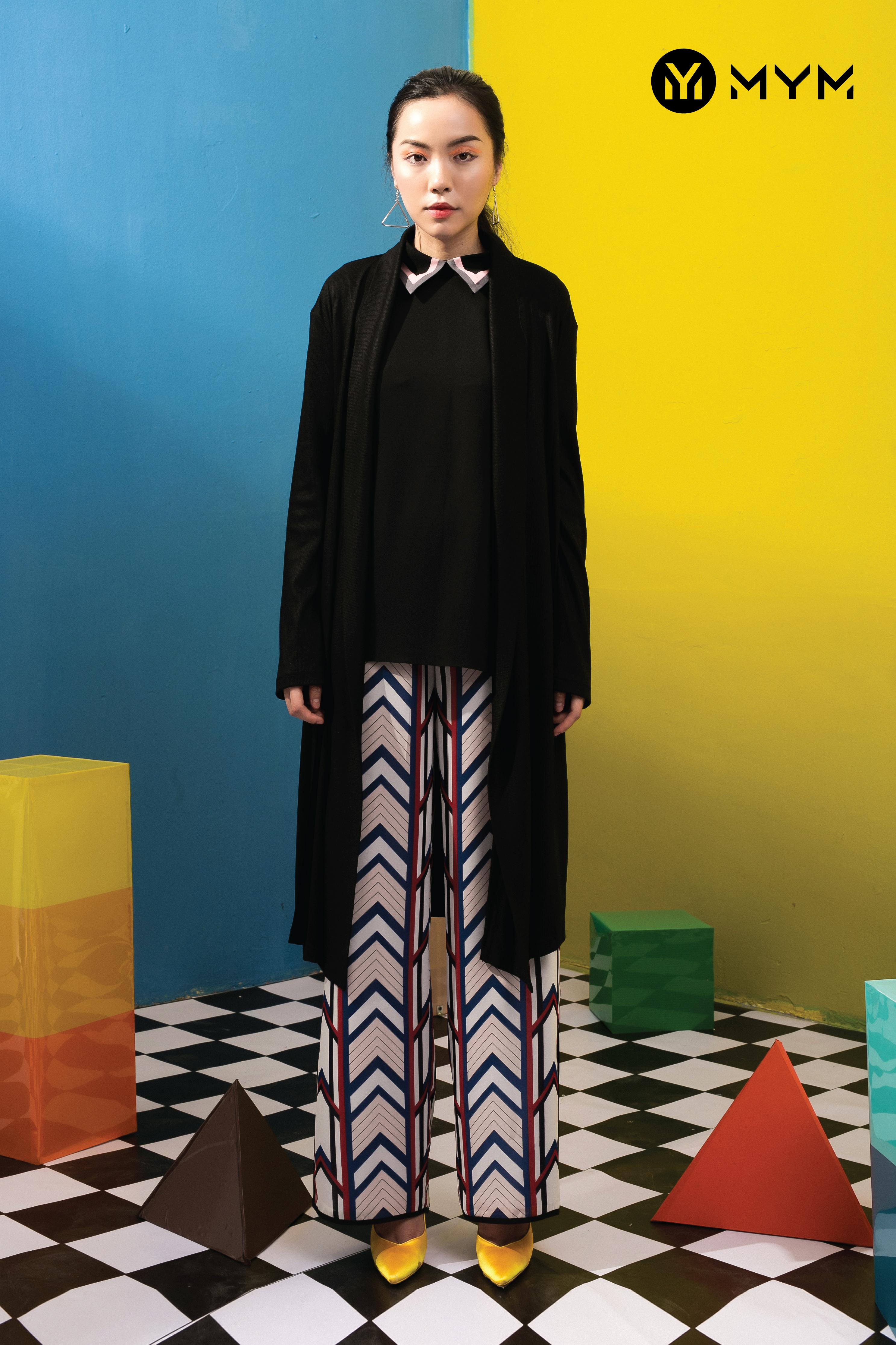 Đường nét, hình khối ấn tượng trong mỗi bộ trang phục