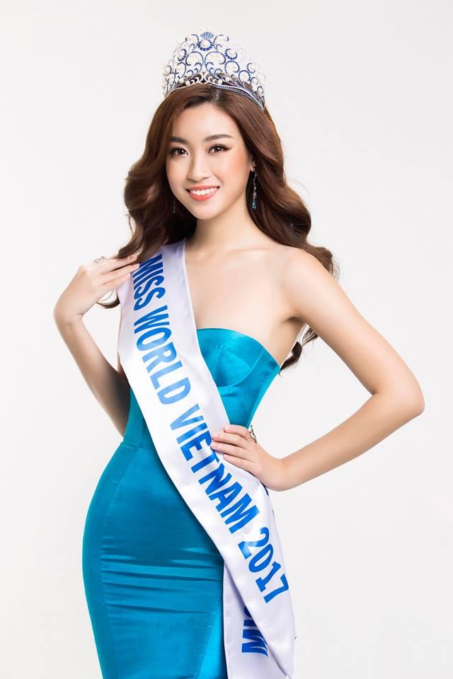 Đỗ Mỹ Linh nhận được nhiều ủng hộ khi tham gia Miss World 2017