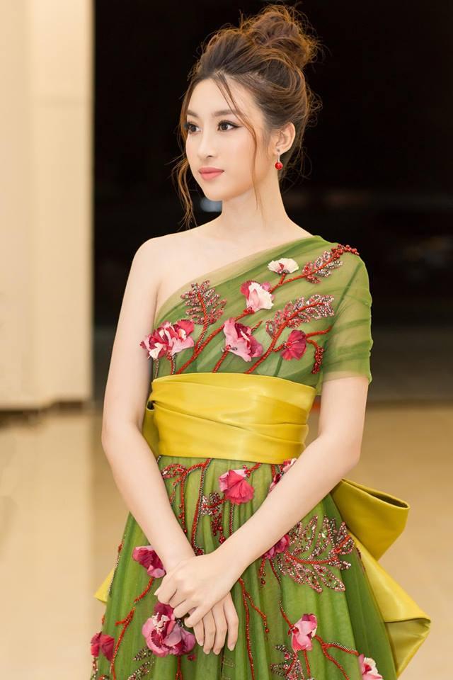Hoa hậu Đỗ Mỹ Linh đẹp như hoa trong lần xuất hiện gần đây nhất