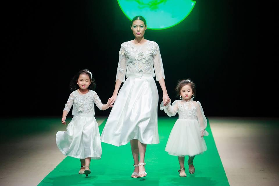 Một số người mẫu từng thành công tại Vietnam's Next Top Model xuất hiện tại sàn diễn thời trang