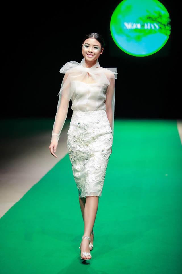 Những thiết kế của Hoa hậu Ngọc Hân với nhiều kiểu dáng đẹp mắt