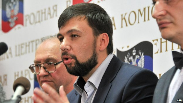 thủ lĩnh ly khai Ukraine