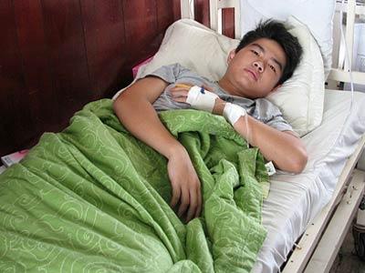 Em Anh Tuấn điều trị tại Bệnh viện Thống Nhất (TPHCM)