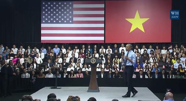 Tổng thống Obama nói đến 'hiện tượng' Sơn Tùng trong bài phát biểu