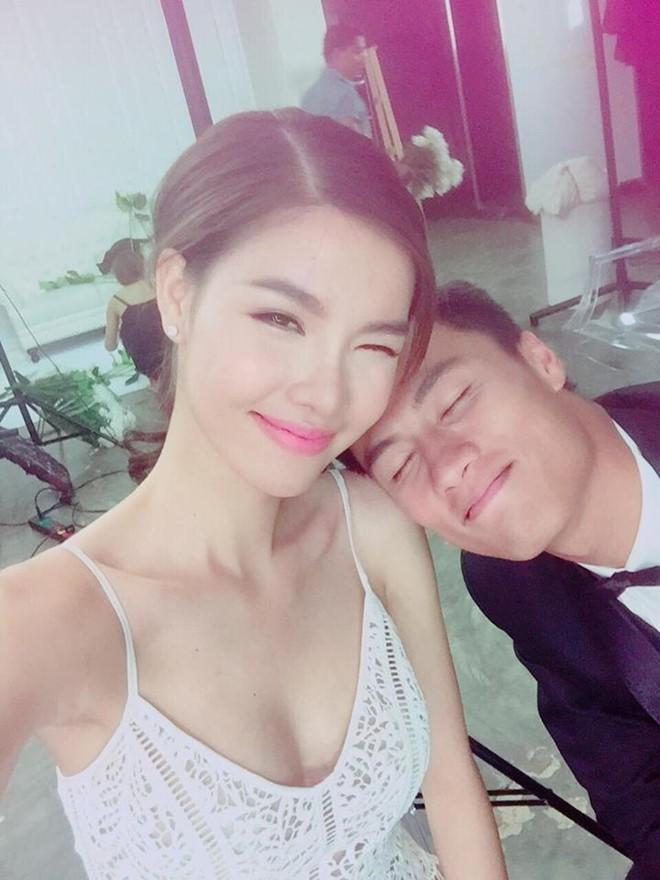 Kỳ Hân, Mạc Hồng Quân hạnh phúc trong hậu trường chụp ảnh cưới