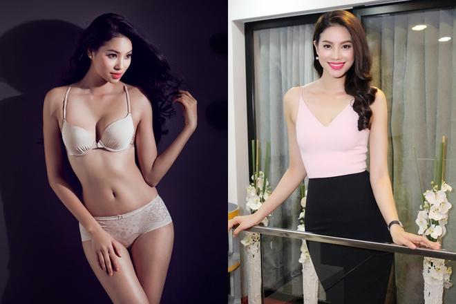Phạm Hương được mệnh danh là một trong những người đẹp gợi cảm nhất showbiz Việt hiện nay.