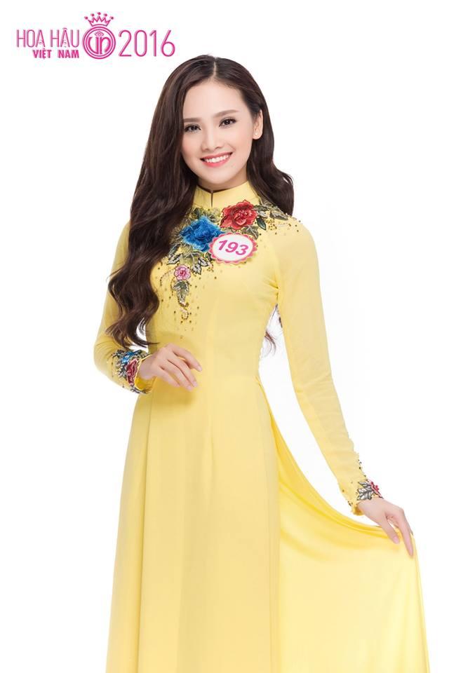 Trên fanpage của Hoa hậu Việt Nam, cô gái Thái Nguyên được khán giả ủng hộ và bình luận tích cực về nhan sắc lẫn học thức.