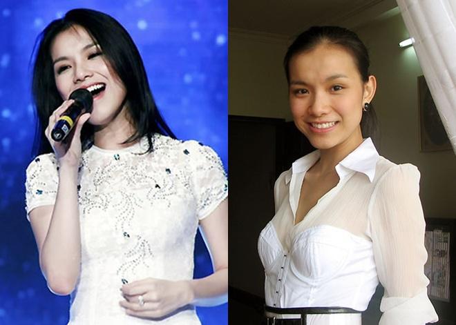 Nhan sắc của Thùy Lâm trên sân khấu và ngoài đời trong năm 2009. Không giống những người đẹp khác, Thùy Lâm có phong cách mặc giản dị trong mọi hoàn cảnh.