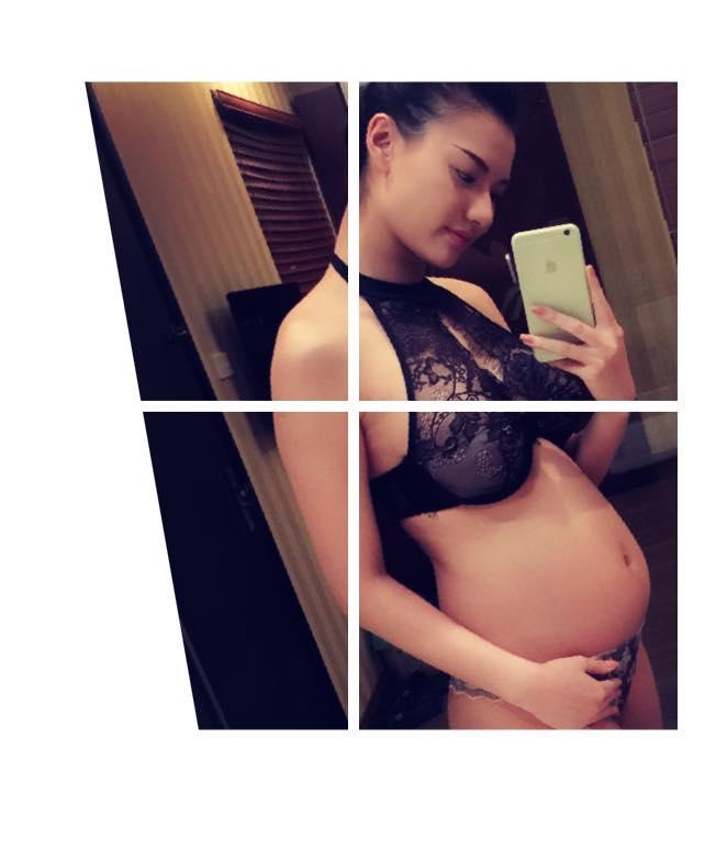Từ ngày tin Hồng Quế mang thai được công khai, cô nhắc nhiều đến Cherry, cô bé đáng yêu đã đến thế giới này để thay đổi cuộc đời của cô.
