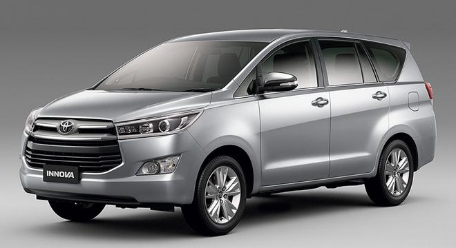 Thứ sáu là Toyota Innova với 702 xe được bán ra.