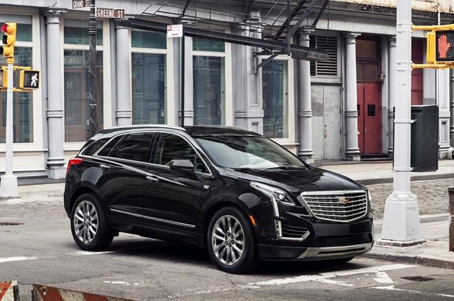 4. Cadillac XT5 2017