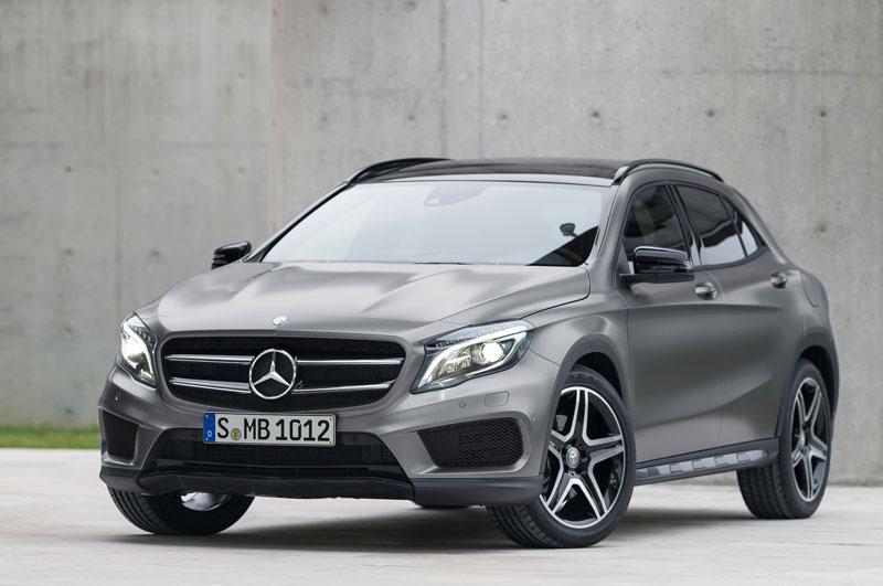 8. Mercedes-Benz GLA-Class 2016