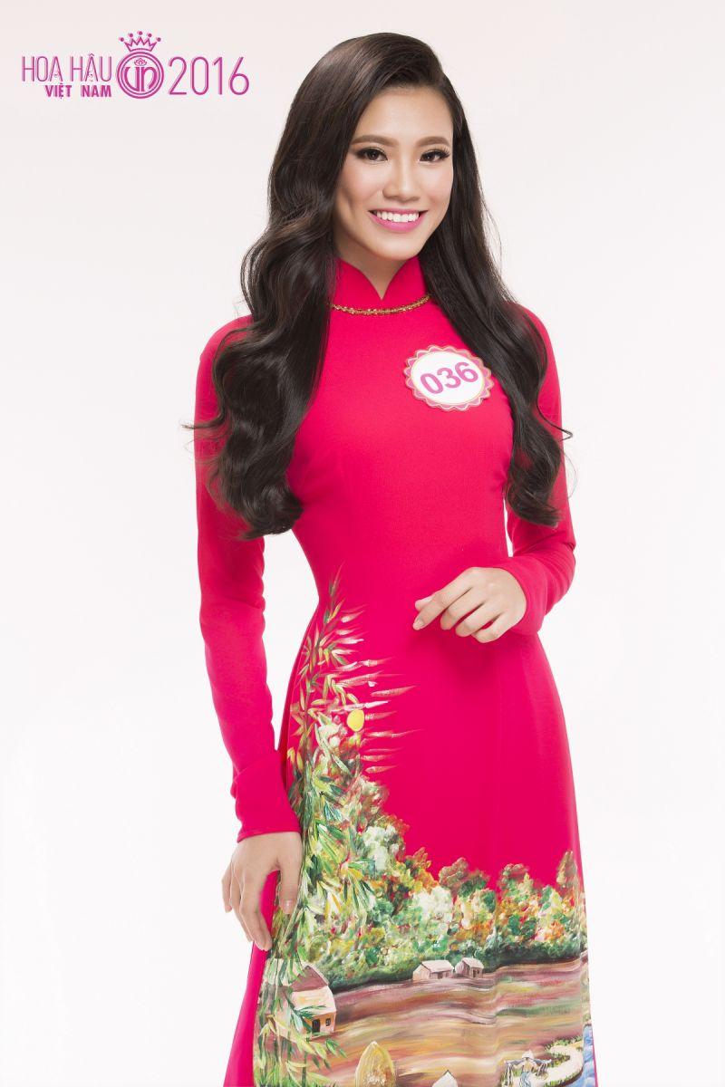 Nguyễn Huỳnh Kim Duyên có thân hình khá chuẩn với chiều cao 1m72, số đo 3 vòng là 84-64-91, nặng 54kg.