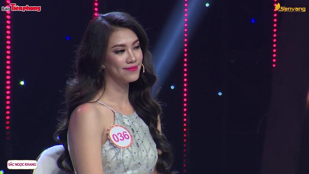 Với phần trình diễn ấn tượng, Kim Duyên được nhận xét là ứng viên tiềm năng cho vương miện Hoa hậu năm nay.