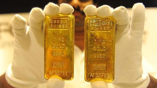 Giá vàng hôm nay ngày 26/8/2016: Giá vàng tiếp tục 'trượt dốc'