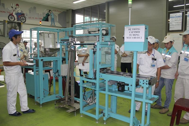 Năng suất chất lượng: Áp dụng Seiton hiệu quả