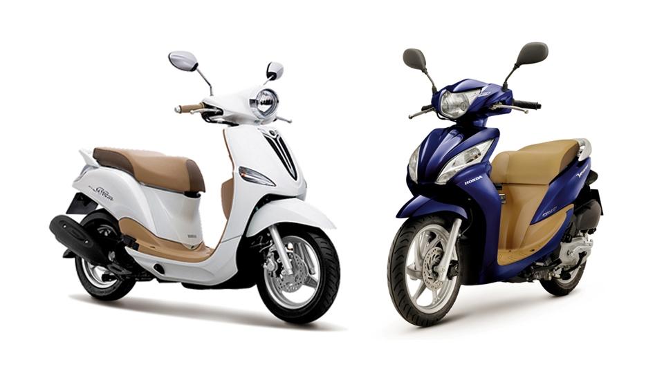 Nên mua xe máy của Honda hay Yamaha là tốt nhất?