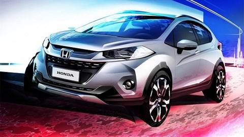 Honda WR-V 2017 chính thức trình làng vào tháng 11/2016 3