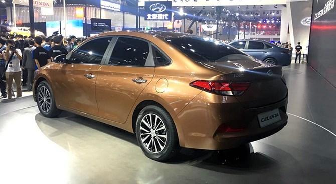 Hyundai Celesta chiếc xe 'lai' Verna và Elantra chính thức trình làng