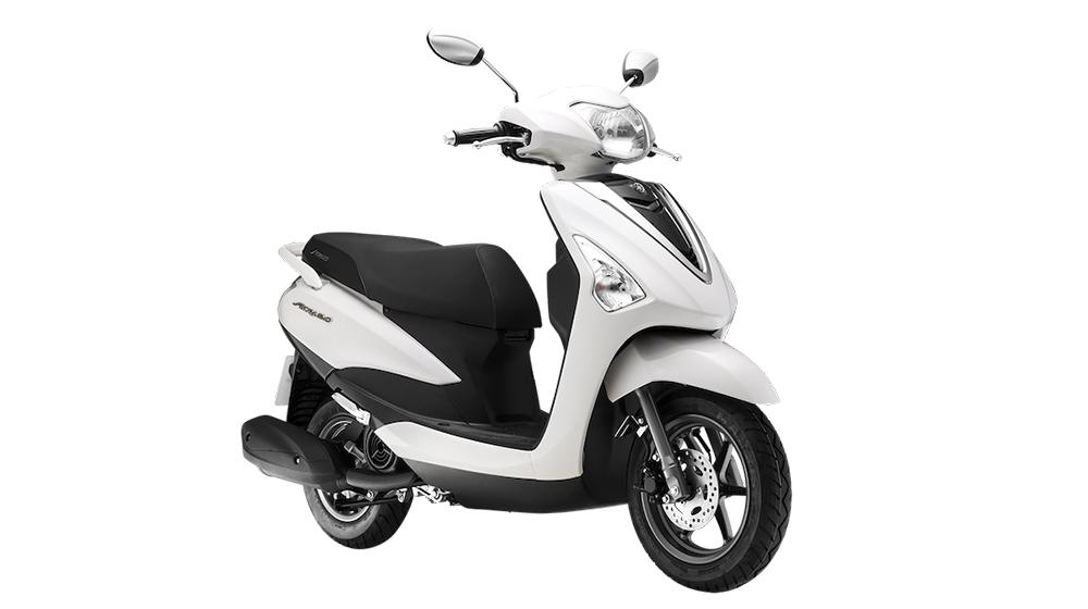 chiếc xe tay ga giá rẻ Yamaha Acruzo được đánh giá là đối thủ của Honda Lead 125cc