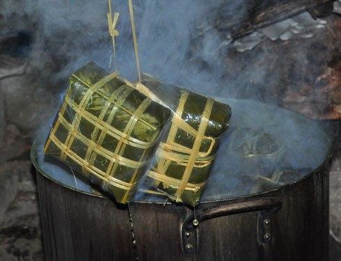 Cách gói bánh chưng thơm ngon, giúp bảo quản lâu