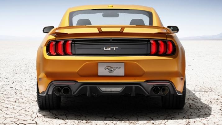 Khác biệt lớn nhất trên Ford Mustang 2018 nằm ở khối động cơ