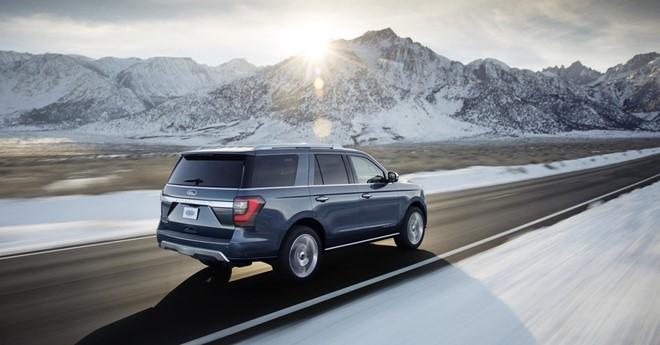 Ford chuẩn bị 'trình làng' siêu phẩm 7 chỗ Expedition 2018