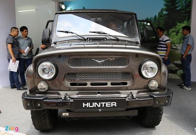 Tại sao UAZ Hunter được 'hét giá' cao gấp 3 lần giá gốc khi về Việt Nam