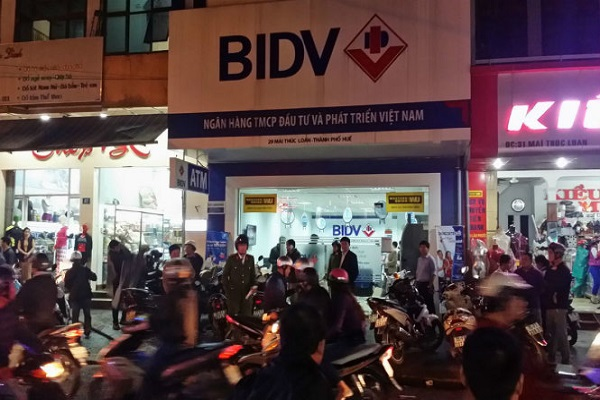'Điểm mặt' những vụ cướp ngân hàng táo tợn tại Việt Nam