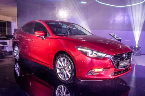 Mazda3 2017 chốt giá 690 triệu đồng tại thị trường Việt có gì mới?