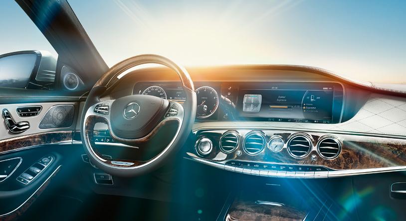 Cận cảnh Mercedes S-Class siêu xe sang trọng nhất năm 2017
