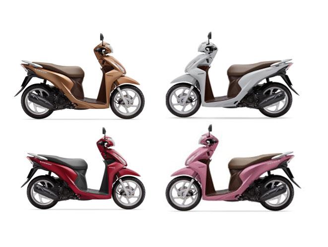 Honda Vision chiếc xe máy đang bán chạy nhất của Honda