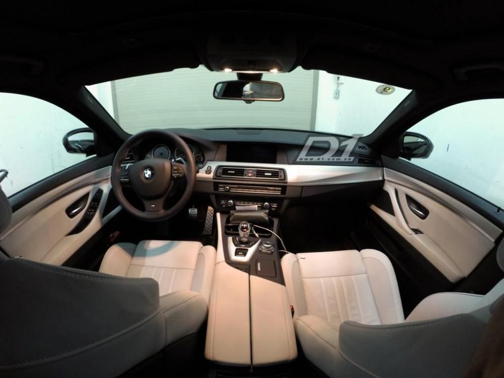 Ngắm chiếc sedan BMW M5 F10 duy nhất, giá chục tỷ tại Việt Nam
