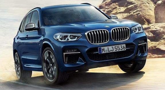 Cận cảnh chiếc BMW X3 2018 chuẩn bị được ra mắt