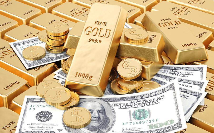 Giá vàng hôm nay trên thị trường thế giới giao dịch ở ngưỡng 1.267,00 USD/ounce