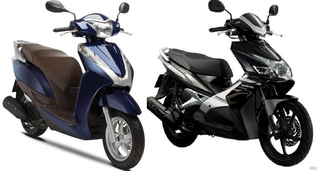 Honda Air Blade và Honda Lead xe nào tốt hơn?