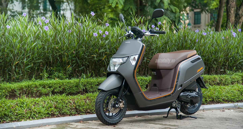 Chi tiết Honda Dunk 2017 giá ngang SH tại Việt Nam