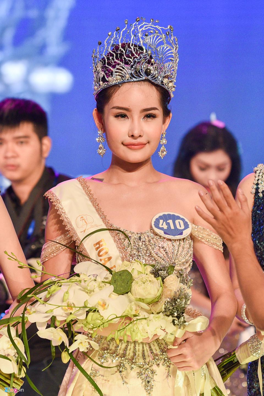 Cận cảnh nhan sắc tân Hoa hậu Đại dương Việt Nam 2017