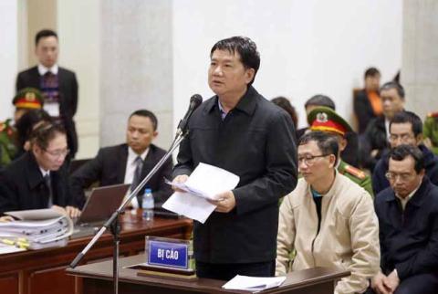 Ngày mai sẽ chính thức tuyên án bị cáo Đinh La Thăng