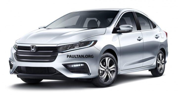 Honda City 2019 lộ diện thiết kế đẹp 'long lanh'