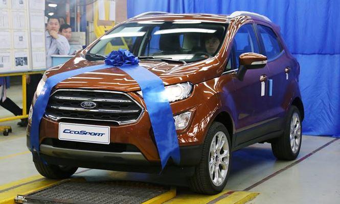 Ford Ecosport 2018 đẹp 'long lanh' vừa ra mắt thị trường Việt có gì hay?