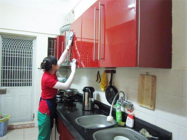Trong khoảng thời gian Táo quân vắng mặt, các gia đình đều nên tranh thủ dọn dẹp căn bếp nhà mình thật sạch sẽ