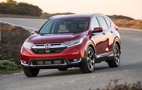 Mẫu xe 'gây sốt' thị trường Việt Honda CR-V 2018 lộ nhiều điểm yếu
