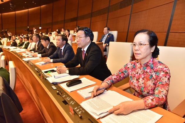 Chùm ảnh: Các đại biểu Quốc hội trong kỳ họp thứ 5, khóa 14