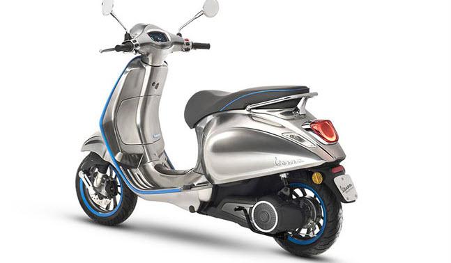 Vừa lộ diện đã 'gây sốt' xe máy điện của Vespa sở hữu những công nghệ gì?