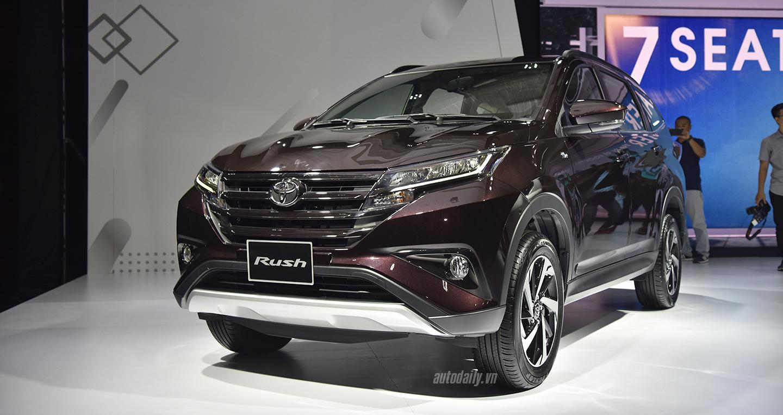 Toyota Rush 2018 vừa về giá lăn bánh lên tới gần 800 triệu đồng có thực sự hấp dẫn?