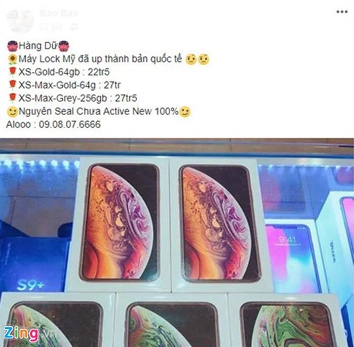 'Núp bóng' hàng quốc tế iPhone XS và XS Max được rao bán với giá rẻ giật mình