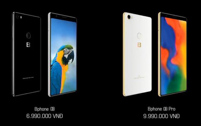 Bphone 3 vừa ra mắt giá từ 6,9 triệu sở hữu những công nghệ gì?