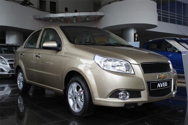 Chevrolet Aveo LT giảm giá về mốc 300 triệu sở hữu những công nghệ gì nổi bật?